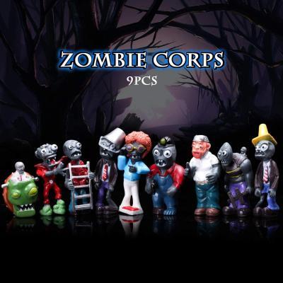Maikerry 16Pcs Plants vs Zombies Figures PVZ Figurines Cupcake Figures Decorative Toys