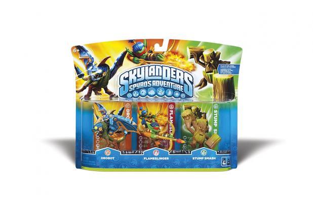 Skylanders Spyro's Adventure Triple Character Pack