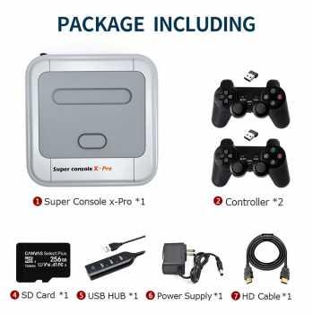 Super Console X Pro HD - 50,000 Retro Video Games Classic