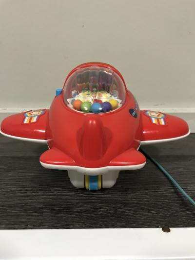 V-Tech Pull and Pop Airplane