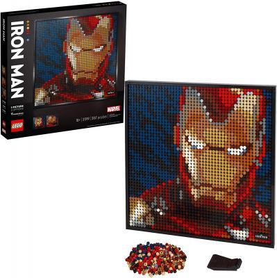 LEGO Art Marvel Studios Iron Man 31199 Building Kit for Adults