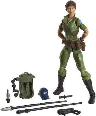 Hasbro G.I. Joe Classified Series Lady Jaye Action Figure 25 Collectible Premium Toy with Multiple Accessories 6-Inch Scale with Custom Package Art
