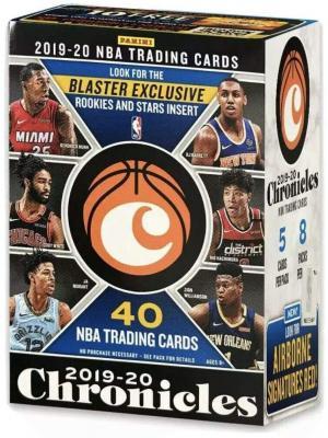 2019-20 Panini CHRONICLES Basketball Blaster Box - 40 Total Cards