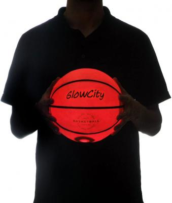 Light Up Basketball-Uses Two High Bright LED's (Official Size and Weight)