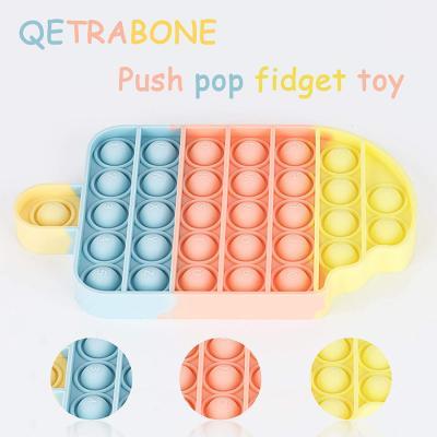 QETRABONE Fidget Toys, Pop Bubble Fidget Sensory Stress Toy