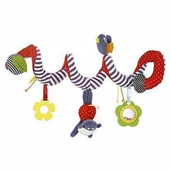 BeeSpring Kid Baby Crib Cot Pram Hanging Rattles Spiral