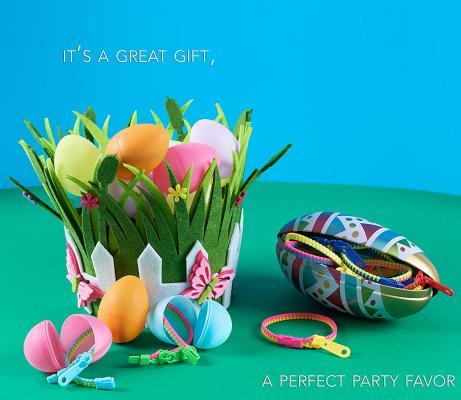 UpBrands 96 Party Favors for Kids Easter Egg Stuffers