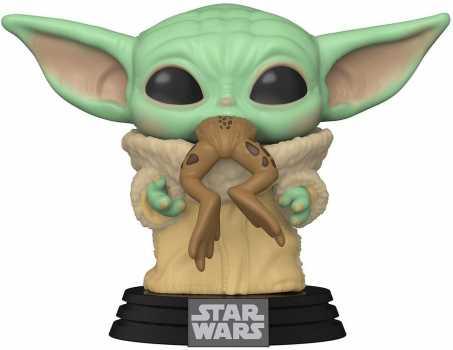 Funko Pop! Star Wars: The Mandalorian - The Child with Frog Vinyl Bobblehead