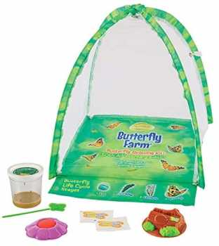 Insect Lore Butterfly Garden: Farm Habitat and Live Cup of Caterpillars