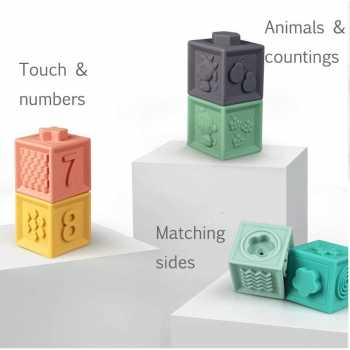 Soft Stacking Blocks for Baby