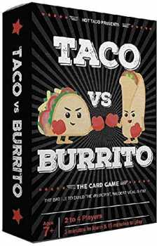 Taco vs Burrito - Card Game