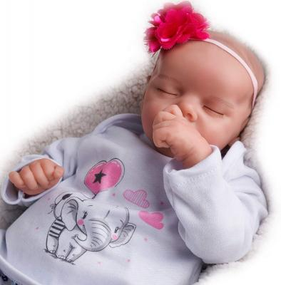 JIZHI Lifelike Reborn Baby Dolls Soft Body 17 Inch Realistic Newborn Baby Dolls