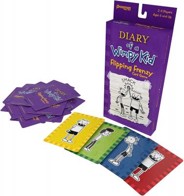 Pressman Diary of a Wimpy Kid Card Game - Flipping Frenzy, Multi Color