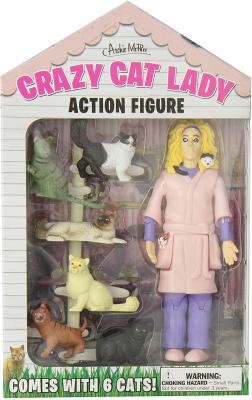 Crazy Cat Lady Version 2 Action Figure