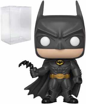 DC Comics Heroes: Batman 80th - Batman (1989) Funko Pop! Vinyl Figure (Includes Compatible Pop Box Protector Case)