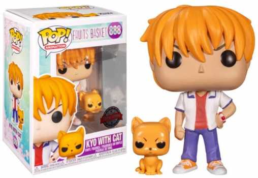 Funko POP! Animation #888 - Kyo with Cat Exclusive