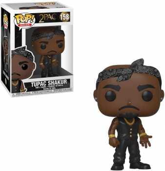 Funko POP! Rocks: Tupac - Vest with Bandana, Multicolour,3.75 inches