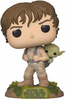 Funko Pop! Star Wars: Star Wars - Training Luke with Yoda,Multicolor,3.75 inches