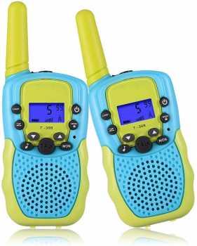 Selieve Toys, Walkie Talkies for Kids 22 Channels 2 Way Radio Toy