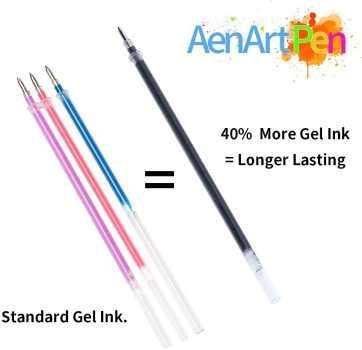 Gel Pens for Adult Coloring Books, 30 Colors Gel Marker Colored Pen