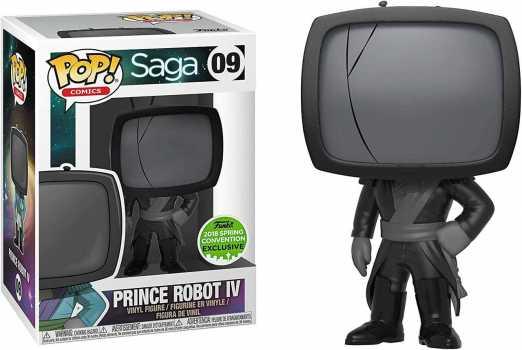 Funko POP! Saga: Prince Robot IV #09 Spring Convention Exclusive