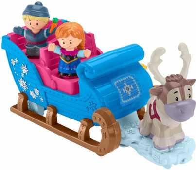 Fisher-Price Disney Frozen Kristoff's Sleigh, Figure and Vehicle Set