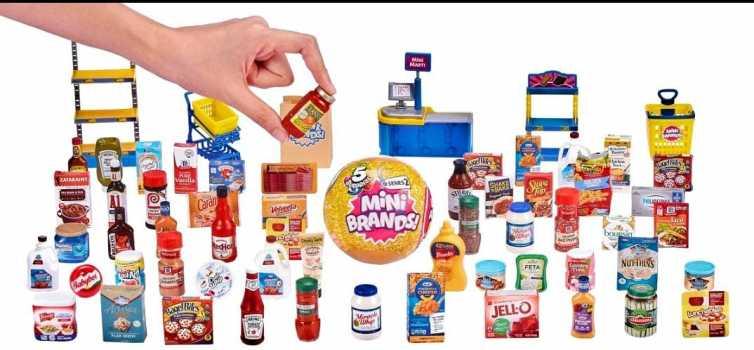 5 Surprise Mini Brands Mystery Capsule Real Miniature Brands