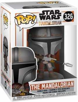 Funko Pop! Star Wars: Mandalorian - The Mandalorian,Multicolor,3.75 inches