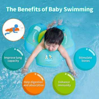 Free Swimming Baby Inflatable Baby Swim Float Children Waist Ring
