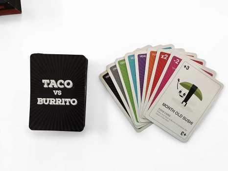 Taco vs Burrito - Card Game