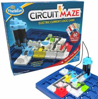 ThinkFun Circuit Maze Electric Current Brain Game and STEM