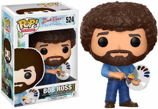 Funko Pop! Television: Bob Ross - Bob Ross Collectible Figure