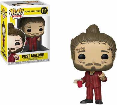Funko Pop! Rocks: Post Malone - Post Malone, Multicolor