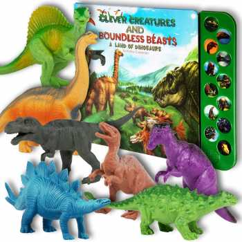 Li'l-Gen Dinosaur Toys for Boys and Girls 3 Years Old & Up