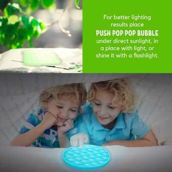 Fluorescent Push Pop