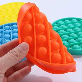 AnanBros 3PCS Push Pop Bubble Fidget Sensory Toy