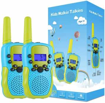 Selieve Toys, Walkie Talkies for Kids 22 Channels 2 Way Radio Toy