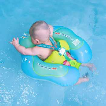 Free Swimming Baby Inflatable Baby Swim Float Children Waist Ring