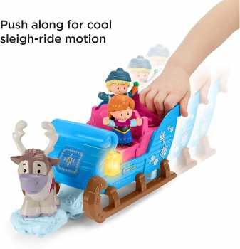 Fisher-Price Disney Frozen Kristoff's Sleigh, Figure and Vehicle Set