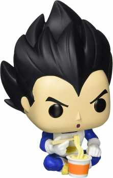 Funko Pop! Animation: Dragonball Z - Vegeta Eating Noodles, Spring Convention Exclusive, Multicolor