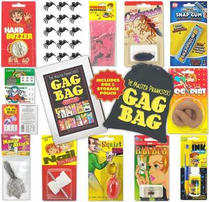TASS The Master Prankster's Gag Bag Series One Prank Kit