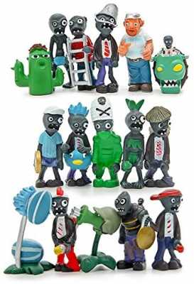 Plants vs Zombies Series PVC Toys,16 Piece