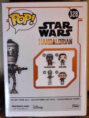 Star Wars: The Mandalorian IG-11 Pop! Vinyl Figure