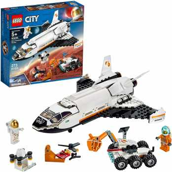 LEGO City Space Mars Research Shuttle 60226 Space Shuttle (273 Pieces)