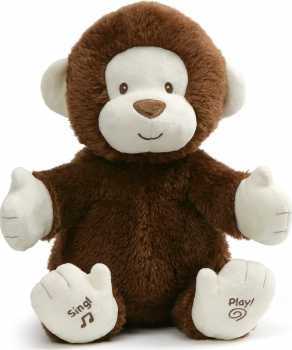 Baby GUND Animated Clappy Monkey Singing and Clapping
