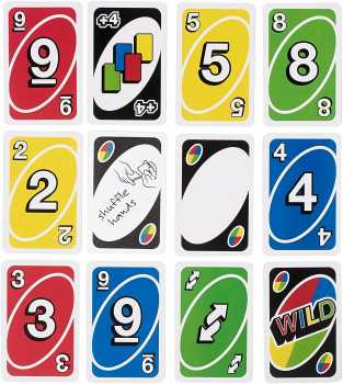 UNO Family Card Game, with 112 Cards in a Sturdy Storage Tin