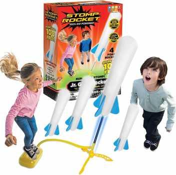 Stomp Rocket The Original Jr. Glow Rocket Launcher,