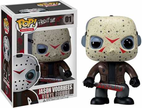 Funko Horror Classics POP Movies Collectors Set: Freddy Krueger, Jason Voorhees, Michael Myers Action Figure