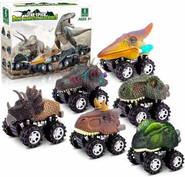 Dinosaur Toys for 3 Year Old Boys, Pull Back