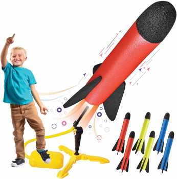 Toy Rocket Launcher for kids – Shoots Up to 100 Feet